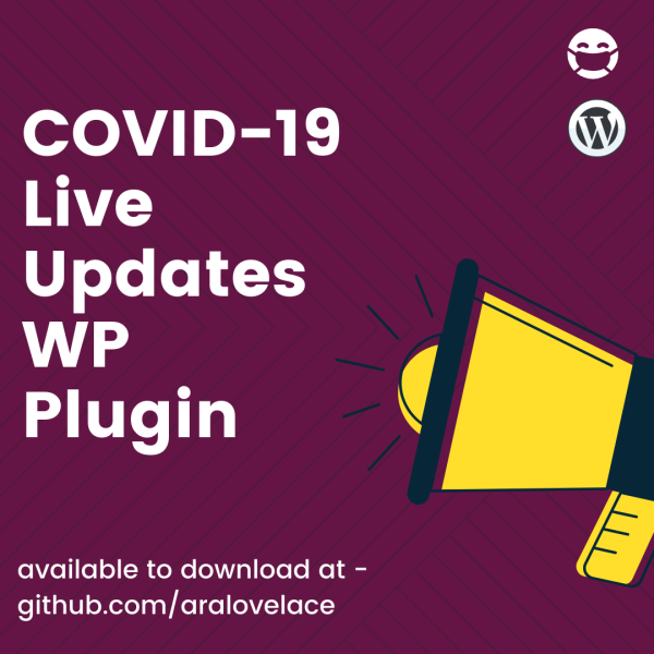 COVID-19 Live Updates WP Plugin