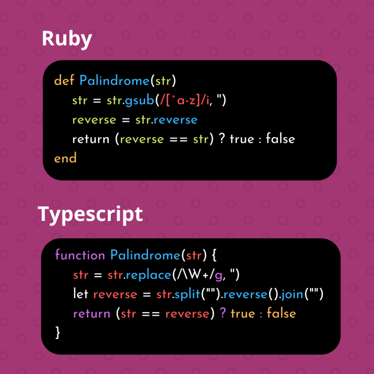 Ruby Palindrome